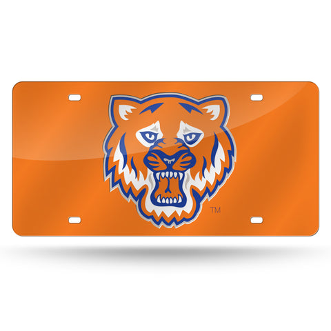 Sam Houston Bearkats Hand Assembled Laser Cut Tag Orange