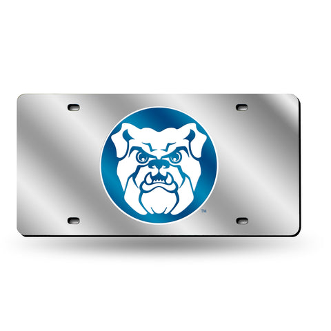 Butler Bulldogs Mirrored Laser Cut Tag