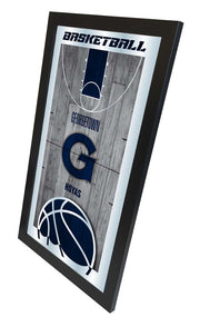 Georgetown Hoyas Basketball Court Mirror Wall Art