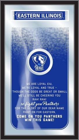 Eastern Illinois Panthers Fight Song Lyrics Wall Mirror