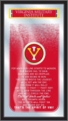 Virginia Military Institute Keydets Fight Song Lyrics Wall Mirror