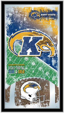 Kent State Golden Flashes Football Field Wall Mirror