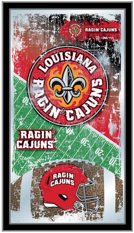 Louisiana Ragin' Cajuns Football Field Wall Mirror