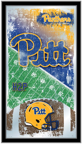 Pittsburgh Panthers Football Field Wall Mirror