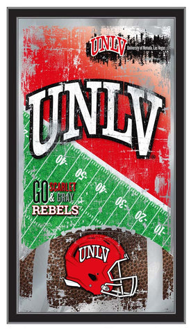 UNLV Rebels Football Field Wall Mirror
