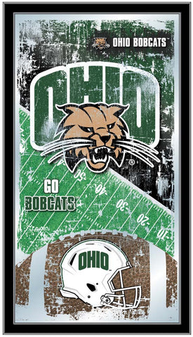 Ohio Bobcats Football Field Wall Mirror