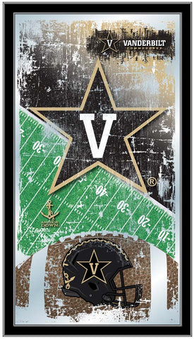 Vanderbilt Commodores Football Field Wall Mirror
