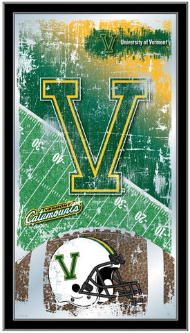 Vermont Catamounts Football Field Wall Mirror