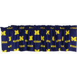 Michigan Wolverines Valance Window Treatment
