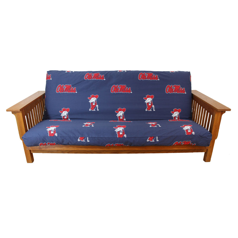 Ole Miss Rebels Futon Cover