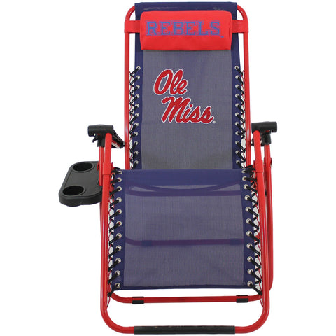 Ole Miss Rebels Zero Gravity Chair Upright