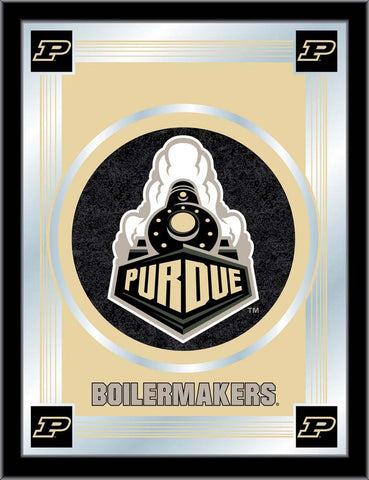 Purdue Boilermakers Logo Wall Mirror