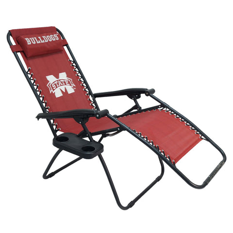 Mississippi State Bulldogs Zero Gravity Chair Upright