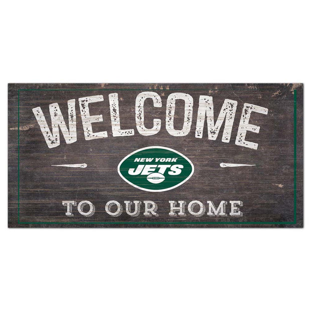 Welcome To Our New York Jets Home Wall Art