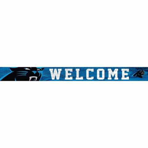 Carolina Panthers Welcome Block