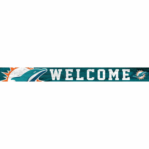 Miami Dolphins Welcome Block