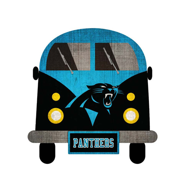 Carolina Panthers Game Day Bus Wall Decor