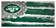 New York Jets Hail the Flag Wall Art