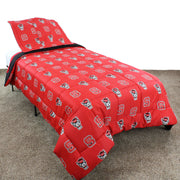 NC State Wolfpack Team Spirit Reversible Bedding Set-Back