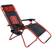 NC State Wolfpack Zero Gravity Chair Upright