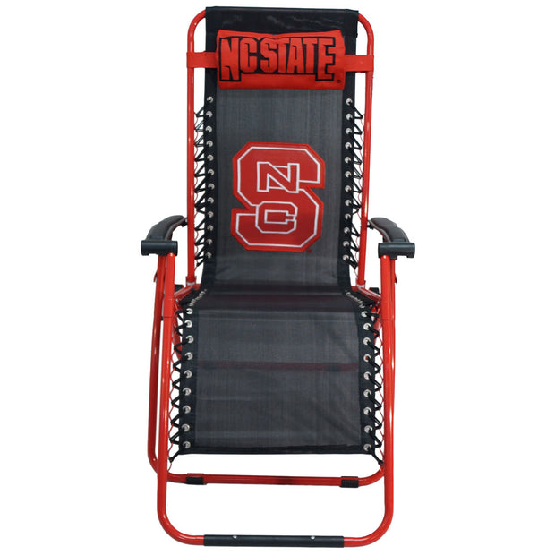 NC State Wolfpack Zero Gravity Chair Reclining