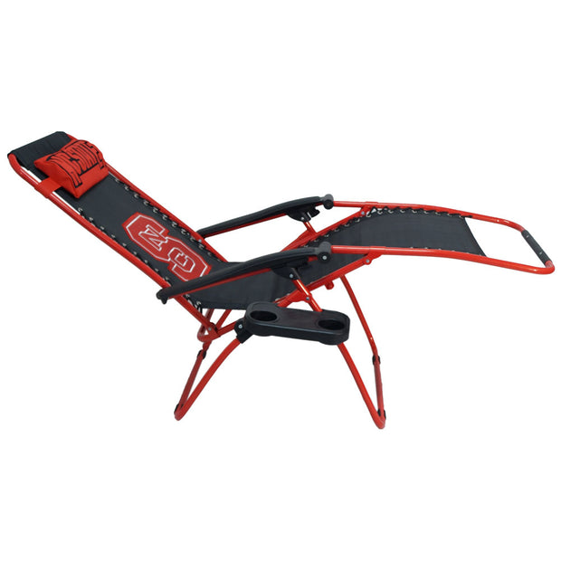 NC State Wolfpack Zero Gravity Chair Flat