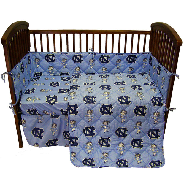 North Carolina Tar Heels 5pc. Baby Crib Bedding Set
