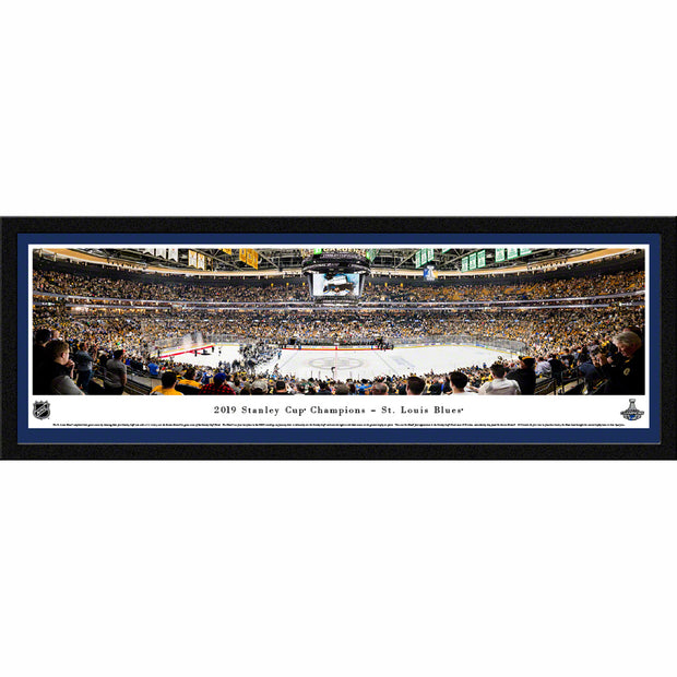 St Louis Blues 2019 NHL Stanley Cup Championship Game Panorama Wall Art