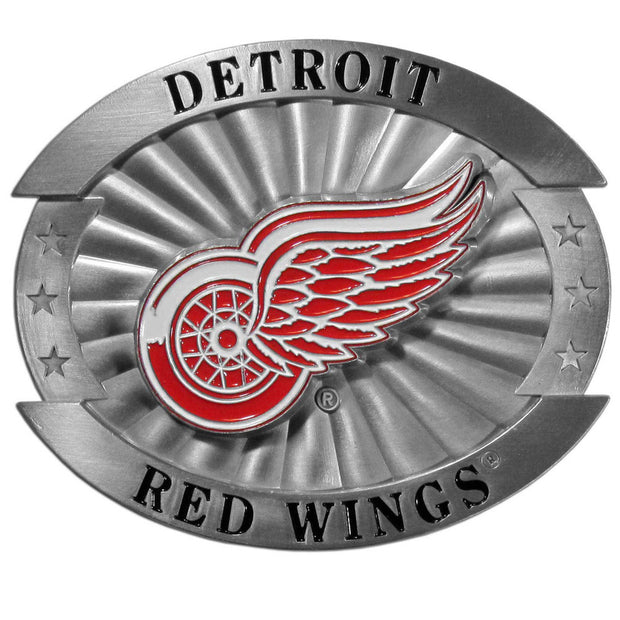 Detroit Red Wings 4 Inch Belt Buckle
