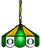 "Oregon Ducks 14"" Pendant Swag Lamp - Team Sports Gift"