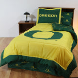 Oregon Ducks Bed in a Bag w/ Colored Logo Sheets