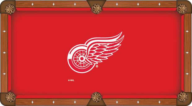 Detroit Red Wings Pool Table Cloth