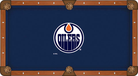 Edmonton Oilers Pool Table Cloth