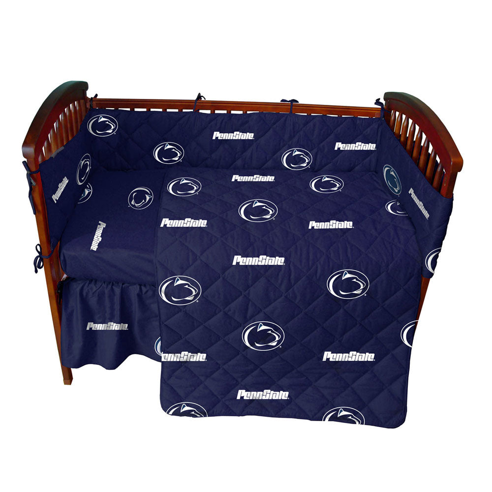 Penn State Nittany Lions 5pc. Baby Crib Bedding Set