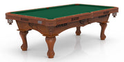 Laser Engraved UAB Blazers Billiard Table with Plain Cloth