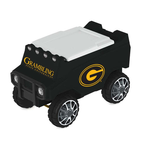 Grambling State Tigers Remote Control Cooler w/ Bluetooth Speakers