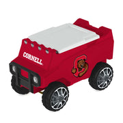 Cornell Big Red Remote Control Cooler w/ Bluetooth Speakers