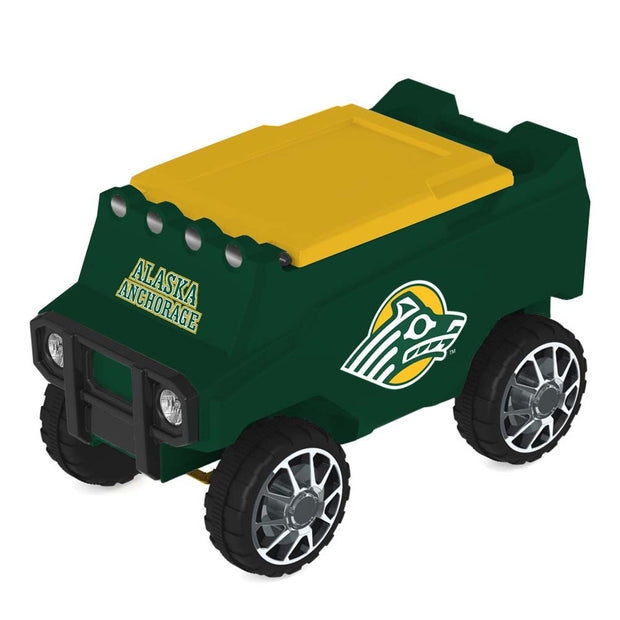 Alaska-Anchorage Seawolves Remote Control Cooler w/ Bluetooth Speakers