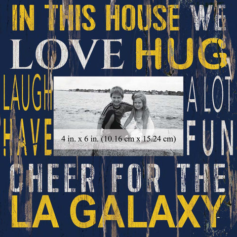 LA Galaxy In This House Photo Frame