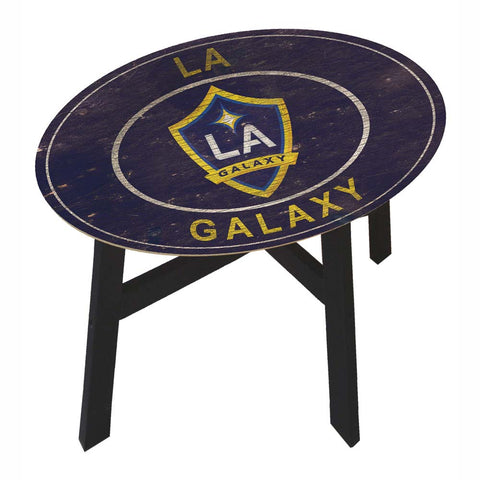 LA Galaxy Coffee Table with Vintage Logo