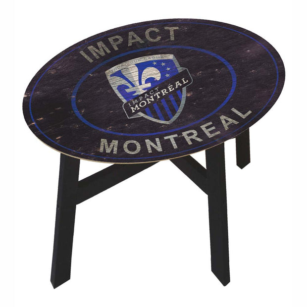 Montreal Impact Coffee Table with Vintage Logo