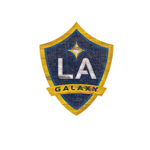 LA Galaxy Distressed Logo Wall Art