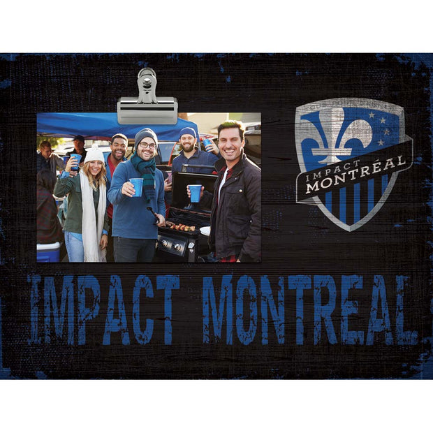 Montreal Impact Clip Picture Frame