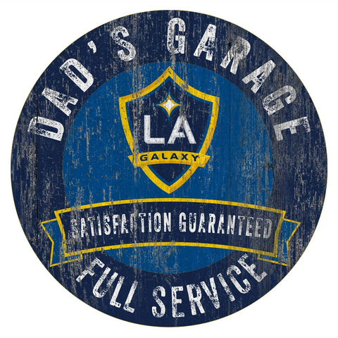 LA Galaxy Dad's Full Service Garage Sign