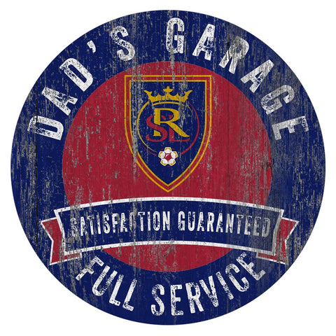 Real Salt Lake Dad's Full Service Garage Sign