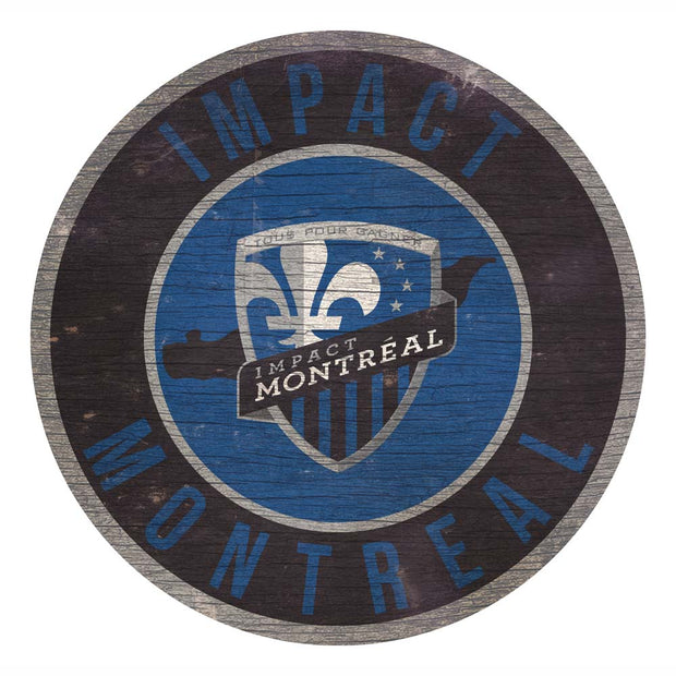 Montreal Impact Home State Wooden Sign