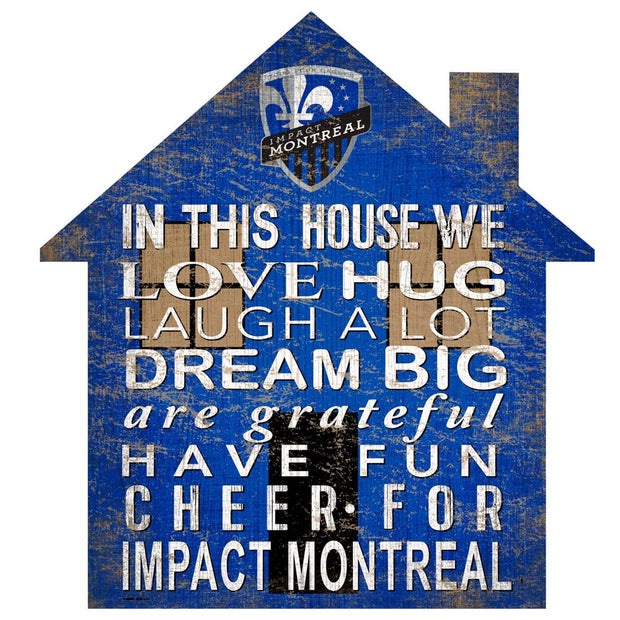 In This House Montreal Impact Wall Art