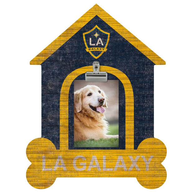 LA Galaxy Dog House Clip Photo Frame