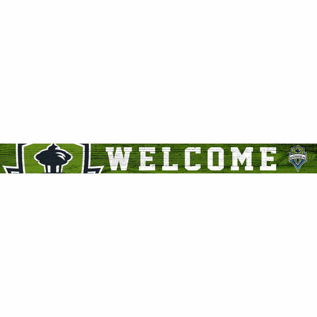 Seattle Sounders FC Welcome Block