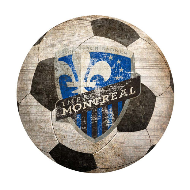 Montreal Impact Soccer Ball Novelty Sign